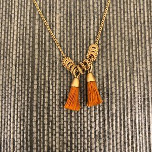 NWOT Madewell Tassel Necklace